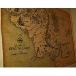 """Карта """"Средиземье"""", ткань"""