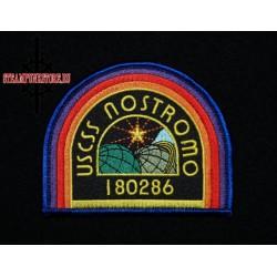 """Нашивка космический корабль """"USCSS Nostromo"""". Чужой"""