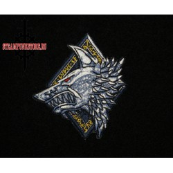 "Нашивка ""Space wolves"". Космические волки. Warhammer 40K"